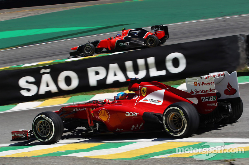 The final Friday of the season for Ferrari - Brazilian GP