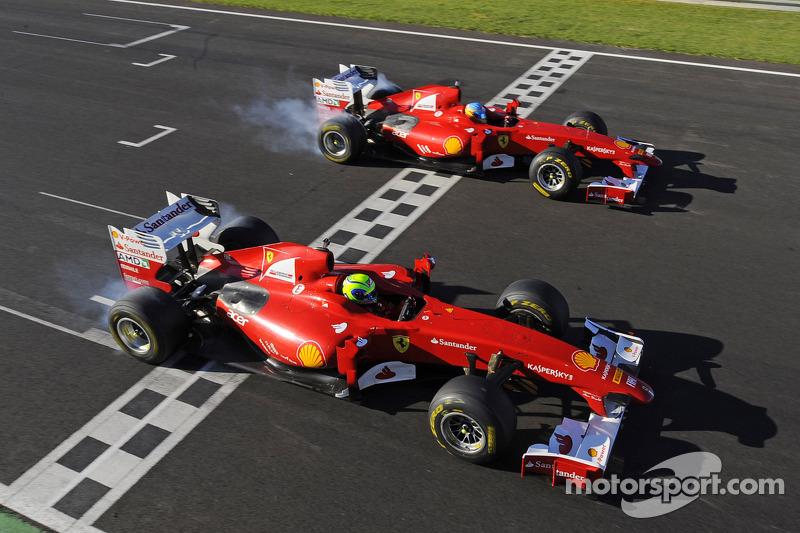 Finali Mondiali Ferrari ends with Alonso and Massa in attendance