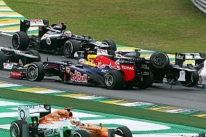 Vettel frowns upon fans' Bruno Senna abuse