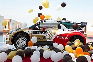 Citroën Total Abu Dhabi 2013 livery and lineup: Loeb, Hirvonen, Sordo