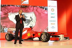 "Montezemolo: ""Ferrari remains at a high level"""
