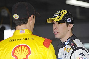 Keselowski comments on new Ford at end of first session in Charlotte testing