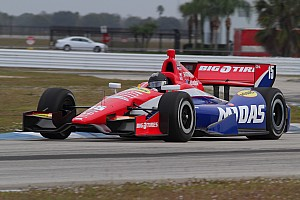 Graham Rahal completes three days of pre-season testing at Sebring