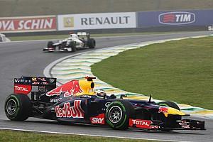 Webber coped better with early-season RB8 - Vettel
