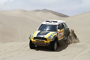"Mini driver Joan ""Nani"" Roma is ready for Dakar 2013 challenge - video"