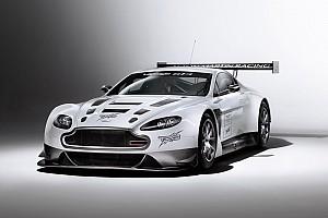 TRG-AMR SCC Vantage GT4 turns first laps in Daytona