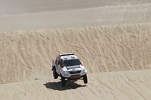 Toyota driver de Villiers pleased with performance in stage 2