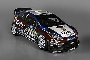 Qatar M-Sport team unveils new Ford Fiesta RS WRC