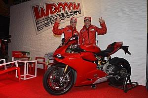 Dovizioso and Hayden in the spotlight at Wrooom 2013