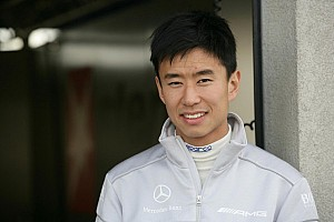 Chinese DTM driver Cheng in the new Asian sportscar series