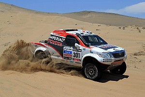 De Villiers and Von Zitzewitz sit second overall at the end of stage 13