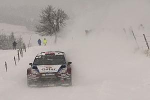 Østberg propers for Qatar M-Sport team in Rallye Monte Carlo