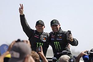 Stéphane Peterhansel and Jean-Paul Cottret: 2013 Dakar winners