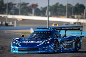 Corvettes claim three top-10 slots in DP qualifying for the Daytona 24H