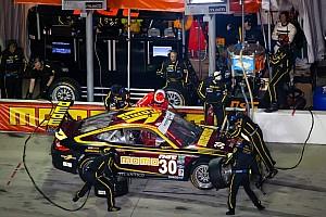 MOMO NGT Motorsport suspension damage proves terminal at Daytona