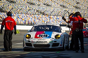 Brumos finds the going tough in this year's Rolex 24 at Daytona