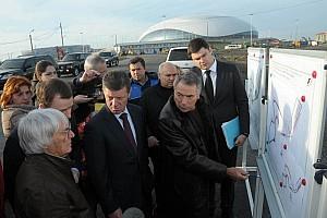 Ecclestone overwhelmed with progress on Sochi circuit