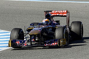 Toro Rosso is satisfied with Jerez tests