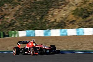 Razia concluded the Marussia MR02 pre-season test at the Circuito de Jerez