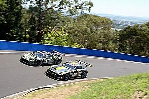 Mercedes and Ferrari on Bathurst 12H front row