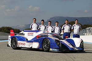 Toyota Racing drivers look ahead to 2013