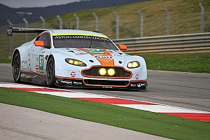 Aston Martin tests New Vantage GTE at Portimao