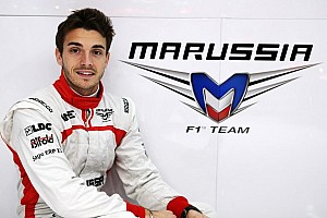 Marussia F1 Team appoints Jules Bianchi to 2013 race seat