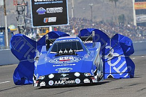 High shows progress on tough Friday at Gatornationals