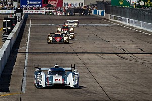 Kristensen leads at halfway in Twelve Hours of Sebring