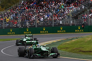 Pic finished 16th and Van der Garder in 18th on Astralian GP