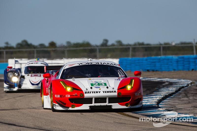 Team West Alex Job Racing's Sebring ends early