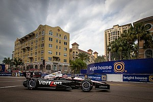 Power leads the way in Friday practice on the streets of St. Pete