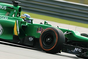 After qualifying Caterham focus on tomorrow Malaysian GP