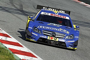 Gary Paffett the quickest on day two testing in Barcelona