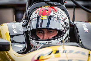 Graham Rahal ran 94 trouble-free laps testing at Texas Motor Speedway