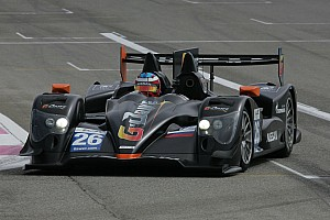 The ORECA 03 LM P2 on the launch pad for Silverstone