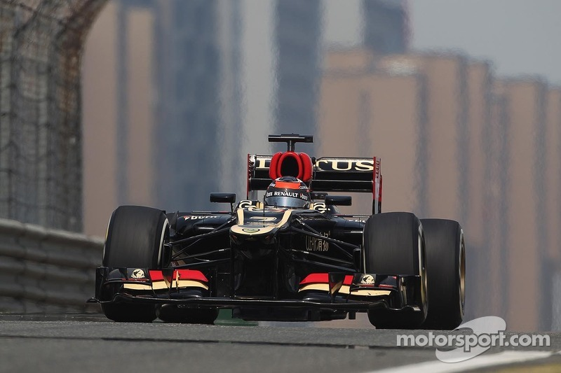 First row for Kimi after qualification at Shanghai