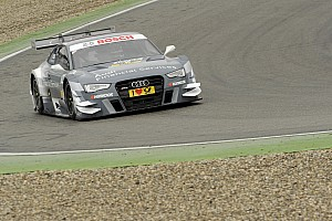 Successful dress rehearsal for Audi RS 5 DTM at Hockenheim
