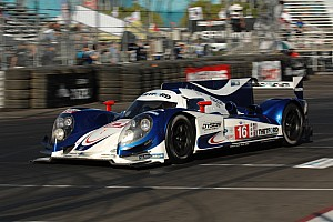 Dyson Racing qualified on the front row for the race on the streets of Long Beach