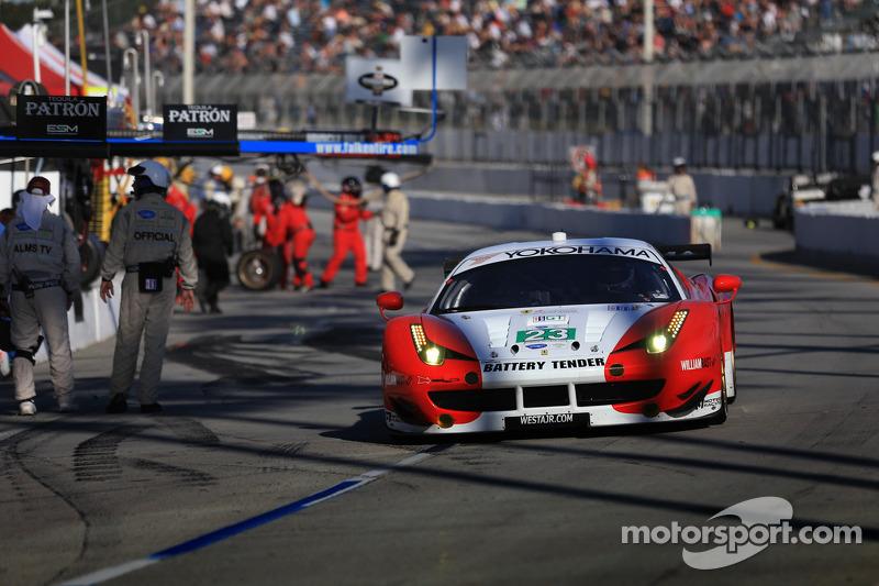 Alex Job Racing seventh in GT at Long Beach