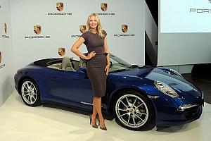 Tennis idol Maria Sharapova to represent Porsche