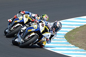 GoldBet SBK Team ended the Friday qualifying at Assen on the provisional second row