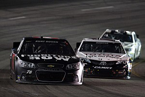 'Wrong sequence at the end' for Kurt Busch at Richmond