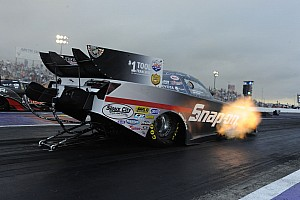 Pedregon drives Camry to top spot in Houston NHRA qualifying