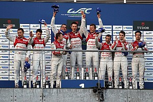 Audi 1-2-3 podium lockout in Belgium