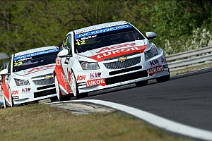 Muller and Huff share victory honors on the Hungaroring