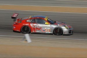 Flying Lizard qualifies 4th and 6th at Laguna Seca