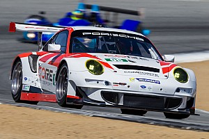 CORE PC squad finishes second in Monterey while Porsche battles back