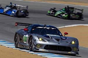 SRT Motorsports saw improvements at Laguna Seca