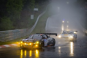 The Belgian Audi Club Team WRT pays toll to Nordschleife epics